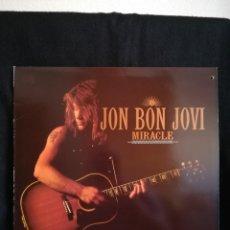 """Discos de vinilo: EP JON BON JOVI - MIRACLE (12""""), 1990 ESPAÑA, COMO NUEVO!!. Lote 290367983"""