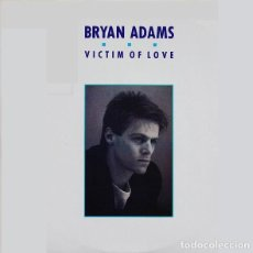 Discos de vinilo: BRYAN ADAMS * MAXI VINILO * VICTIM OF LOVE * SPAIN 1987. Lote 290417803