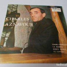 Discos de vinilo: CHARLES AZNAVOUR CANTANDO EN ESPAÑOL. Lote 290419933