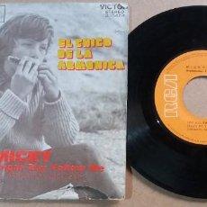 Discos de vinil: MICKY / EL CHICO DE LA ARMONICA / SINGLE 7 PULGADAS. Lote 290472103