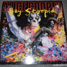 Discos de vinilo: ALICE COOPER – HEY STOOPID - MAXISINGLE UK 1991. Lote 290426343