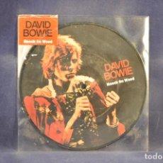 Discos de vinilo: DAVID BOWIE - KNOCK ON WOOD (PICTURE DISC) - SINGLE. Lote 290513988