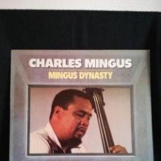 Discos de vinilo: LP CHARLES MINGUS - MINGUS DYNASTY (LP, ALBUM, RE)ESPAÑA 1985, COMO NUEVO. Lote 290561758