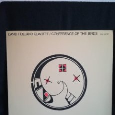 Discos de vinilo: LP DISCAZO! DAVID HOLLAND QUARTET - CONFERENCE OF THE BIRDS, 1979 ESPAÑA, IMPECABLE, COMO NUEVO!!. Lote 290565903
