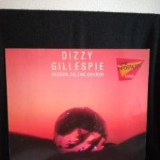 Discos de vinilo: LP DIZZY GILLESPIE - CLOSER TO THE SOURCE (LP, ALBUM), 1984 EUROPA, IMPECABLE, COMO NUEVO. Lote 290567643