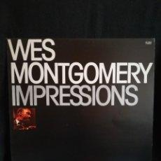 Discos de vinilo: LP WES MONTGOMERY - IMPRESSIONS (LP, ALBUM, RE), 1979 ESPAÑA, COMO NUEVO, IMPECABLE. Lote 290569593