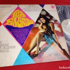 Disques de vinyle: TUS FAVORITOS MASSIEL+MICKY TONYS+BRINCOS+ROSALIA+TAMARA+RELAMPAGOS++ LP 1967 NOVOLA LEER ESTADO. Lote 290577283
