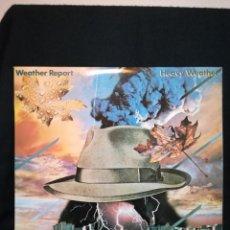 Discos de vinilo: LP WEATHER REPORT - HEAVY WEATHER (LP, ALBUM), 1977 ESPAÑA, BUEN ESTADO EN GENERAL. Lote 290579013
