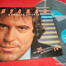 Disques de vinyle: DYANGO A CORAZON ABIERTO 2LP 1983 EMI ODEON GATEFOLD EDICION ESPAÑOLA SPAIN EXCELENTE. Lote 290586718