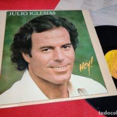 Disques de vinyle: JULIO IGLESIAS HEY LP 1980 CBS EDICION ESPAÑOLA SPAIN. Lote 290587633