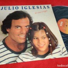 Disques de vinyle: JULIO IGLESIAS DE NIÑA A MUJER LP 1981 CBS GATEFOLD EDICION ESPAÑOLA SPAIN EX. Lote 290587798