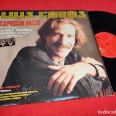 Disques de vinyle: LUIS COBOS CAPRICCIO RUSSO MOSCU LP 1986 CBS ESPAÑA SPAIN. Lote 290588728