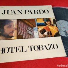Discos de vinil: JUAN PARDO HOTEL TOBAZO LP 1975 ARIOLA GATEFOLD SPAIN ESPAÑA. Lote 290589168