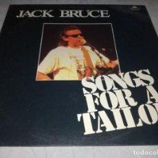 Disques de vinyle: JACK BRUCE-SONGS FOR A TAILOR-EDICION ESPAÑOLA. Lote 290592483