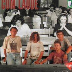 Discos de vinilo: CUM LAUDE - DEJALO TODO, AHORA SI QUE SI, LA LLUVIA AZUL.../ LP PASARELA 1991 / BUEN ESTADO RF-10524. Lote 290595278