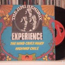 Discos de vinilo: JIMMI HENDRIX EXPERIENCE - THE WIND CRIES MARY - DIFICIL. Lote 290690413