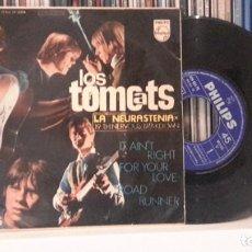 Discos de vinilo: TOMCATS - LA NEURASTENIA -´DIFICIL. Lote 290690898