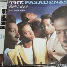 "Discos de vinilo: THE PASADENAS - REELING (12"", MAXI)1989. SELLO:CBS CAT. N.º: 656087 6. NUEVO. MINT / VG+. Lote 290752378"