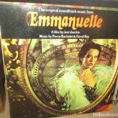Discos de vinil: BANDA SONORA - EMMANUELLE LP 1975 EDICION ESPAÑOLA. Lote 290768673