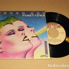Discos de vinil: LIPPS INC. - FUNKYTOWN - SINGLE - 1979. Lote 290895878