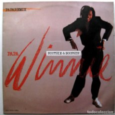 Discos de vinilo: PAPA WINNIE - ROOTSIE & BOOPSIE (PAPAREMIX) - MAXI EPIC 1989 BPY. Lote 290952278