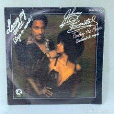 Discos de vinilo: SINGLE JOHNNY BRISTOL - LEAVE MY WORLD / FEELING THE MAGIC - ESPAÑA - AÑO 1975. Lote 290974508