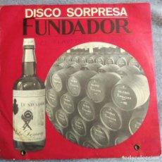 Discos de vinilo: DISCO SORPRESA FUNDADOR, LA LECHERA, EL FLATISTA DE HAMELIN, EP. ESPAÑA 1968, 10.142 (VG+_VG+). Lote 291173568