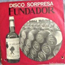 Discos de vinilo: DISCO SORPRESA FUNDADOR, LA LECHERA, EL FLATISTA DE HAMELIN, EP. ESPAÑA 1968, 10.142 (VG+_VG+). Lote 291173673