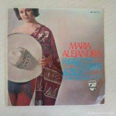 Discos de vinilo: MARIA ALEJANDRA - CUANDO VIVAS CONMIGO +3 RARO EP PHILIPS DE 1966 EN BUEN ESTADO. Lote 291184493