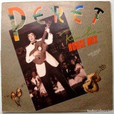 Discos de vinilo: PERET - RUMBA HOUSE MIX - MAXI ARIOLA 1990 BPY. Lote 291197098