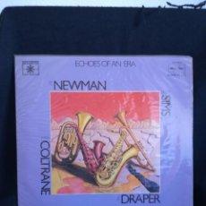 Discos de vinilo: 2XLP GATEFOLD, JOE NEWMAN WITH ZOOT SIMS / JOHN COLTRANE WITH RAY DRAPER -LOCKING HORNS, 1978 ESPAÑA. Lote 291198453