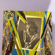 Discos de vinilo: CASAL AGORA EMI 1983. PÓKER PARA UN PERDEDOR/ MIEDO. Lote 291201718