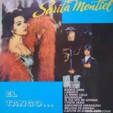 Discos de vinilo: SARITA MONTIEL LP SELLO HISPAVOX EDITADO EN BRASIL AÑO 1977, EL TANGO...... Lote 291210863
