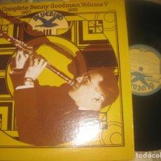 Discos de vinilo: THE COMPLETE BENNY GOODMAN VOLUM V 1937 1938 2LPS RCA EDITADO USA SIN SEÑALES DE USO. Lote 291226088