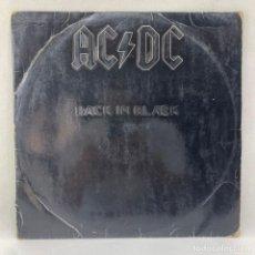 Discos de vinilo: LP - VINILO AC-DC - BACK IN BLACK - ESPAÑA - AÑO 1980. Lote 291232318