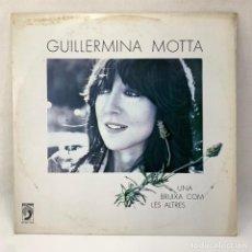 Discos de vinil: LP - VINILO GUILLERMINA MOTTA - UNA BRUIXA COM LES ALTRES + ENCARTE - ESPAÑA - AÑO 1981. Lote 291235688