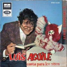Discos de vinilo: LUIS AGUILÉ - CANTA PARA NIÑOS - 1964. Lote 291243843
