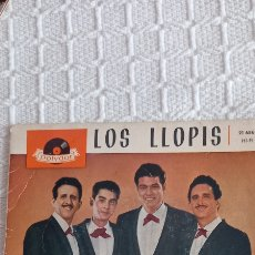 Discos de vinilo: DISCO 45 RPM LOS LLOPIS. Lote 291245858