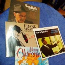 Discos de vinilo: LOTE 3LP DE FRANK SINATRA - 20 CLASSIC TRACKS +THE REPRISE YEARS +STRANGERS IN THE NIGHT LPS VINILO. Lote 291308388