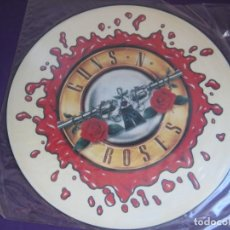 Discos de vinilo: GUNS N' ROSES – NOVEMBER RAIN - MAXI SINGLE GEFFEN 1992 - PICTURE DISC - HARD ROCK METAL 90'S. Lote 291321853