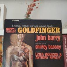 Discos de vinil: LP BSO ORIGINAL SOUNDTRACK JAMES BOND GOLDFINGER, USA. Lote 291412258