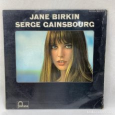 Discos de vinil: LP - VINILO JANE BIRKIN & SERGE GAINSBOURG - JANE BIRKIN & SERGE GAINSBOURG - FRANCIA - AÑO 1969. Lote 291481023