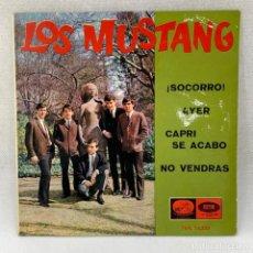 Discos de vinilo: EP LOS MUSTANG - ¡SOCORRO! / AYER - ESPAÑA - AÑO 1965. Lote 291486693