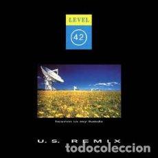 "Discos de vinilo: LEVEL 42 - HEAVEN IN MY HANDS (U.S. REMIX) (12"", SINGLE) LABEL:POLYDOR, POLYDOR CAT#: PZX 14, 887 7. Lote 291489683"