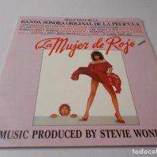 Discos de vinilo: LA MUJER DE ROJO BANDA SONORA ORIGINAL. Lote 291495423
