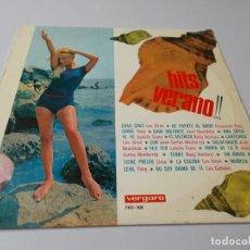 Discos de vinilo: HITS VERANO VERGARA. Lote 291515128