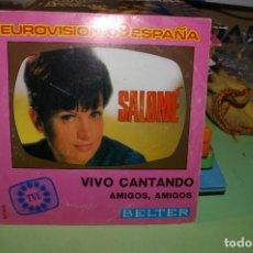 Discos de vinilo: SALOME SP BELTER 1969 VIVO CANTANDO TVE. Lote 291516528