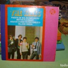 Discos de vinilo: THE KINKS EP PYE 1967 PUESTA DE SOL EN WATERLOO + 3. Lote 291521048