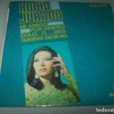 Discos de vinilo: ROCIO JURADO - MI AMIGO + 3 - EP DE COLUMBIA - 1968 - ORIGINAL - MUY RARO. Lote 291530993