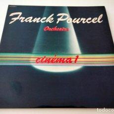 Discos de vinilo: VINILO LP DE FRANCK POURCEL ORCHESTRA. CINÉMA 1. 1979.. Lote 291550258